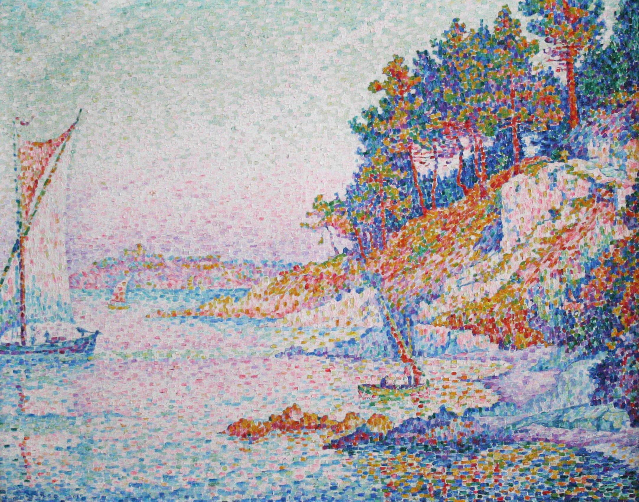 La calanque, Paul Signac (1906)