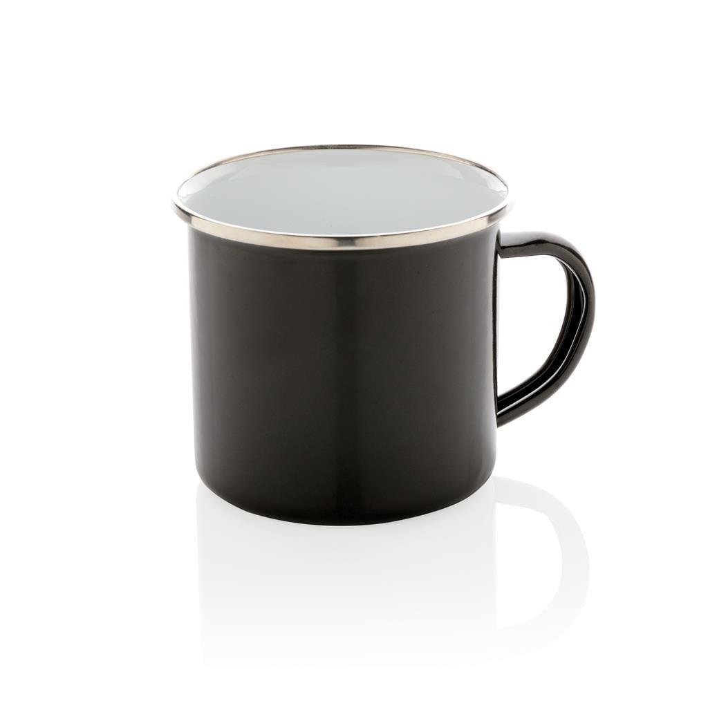 mug vintage émaillé